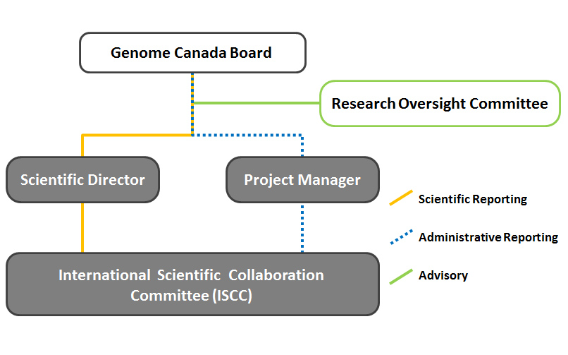 iBOL Organizational Chart