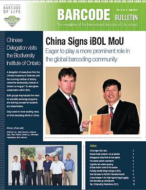 Barcode Bulletin - September 2012