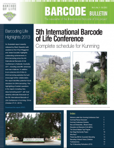 Barcode Bulletin - October 2013